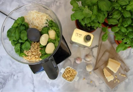 Recipe: Homemade Basil Pesto